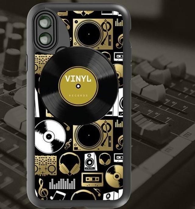 オフィシャルサイト限定販売【iPhone X & XS向け】6つのレンズを搭載したレンズ着脱型ケース「Audio柄」