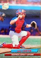 MLBカード 92FLEER Gary Carter #514 EXPOS