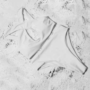 Bikini♡フロントクロスハイウエストビキニ ホワイト
