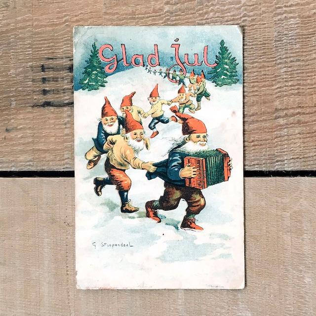 クリスマスカード「G.Stoopendal(G・ストゥーペンダール)」《200222-05》