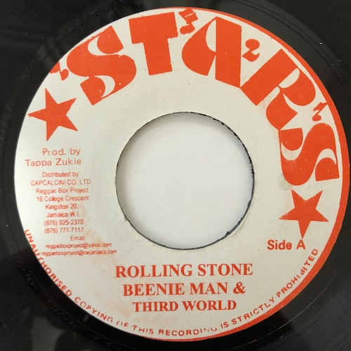 Third World, Beenie Man - Papa Was A Rolling Stone【7-20577】