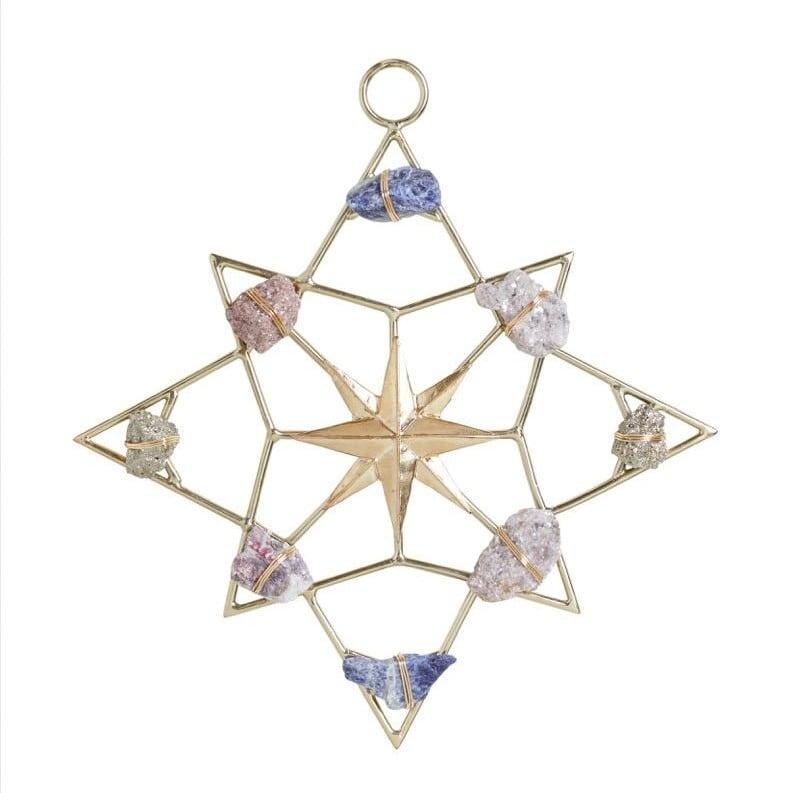 Ariana Ost North Star Healing Crystal Grid 北極星モチーフ クリスタルグリッド