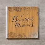 Tree's Board(Light brown)-FAMILY_A4スクエア_6ページ/10カット_クラシックアルバム(アクリルカバー)