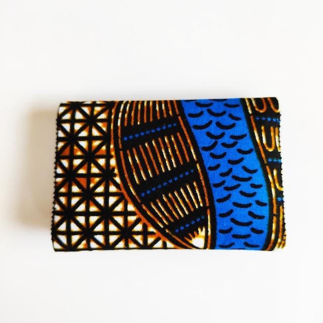 アフリカンファブリック Fan fan card Folder 宝貝