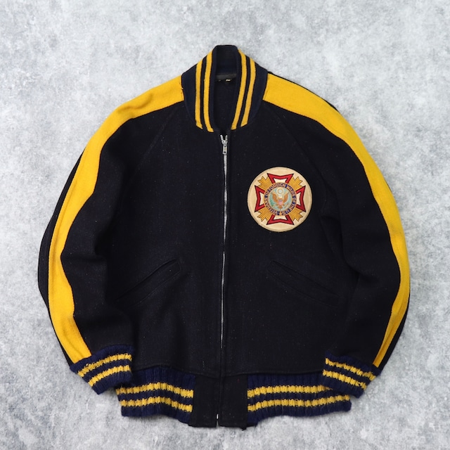 1960s  Vintage  Wool   Award  Jacket   L