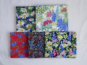 Moda Wildflowers カットクロスセット3