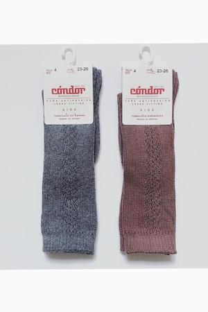 condor side openwork high socks