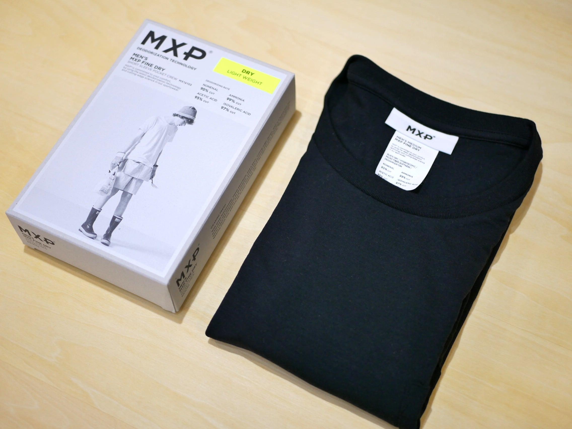 MXP / FINE DRY  POCKET-T (BLACK)