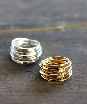 YR180327KHR7【YArKA/ヤーカ】silver925  coil design ring[kees2]/シルバー925コイルデザインリング