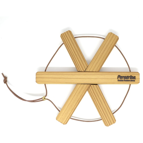 Peregrine Furniture 圧縮杉の鍋敷き スター