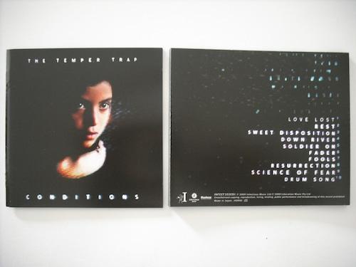 【CD】TEMPER TRAP / CONDITIONS