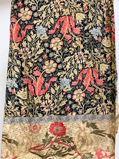 William Morris Wall Paper Designed Silk scarf