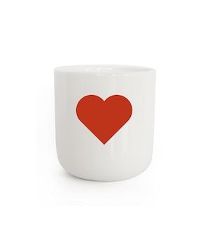 PLTY - Mug - GLYPHS(Red Heart)