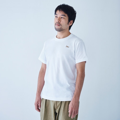 TEE SHIRT SPHINX PATCH WHITE for MAN