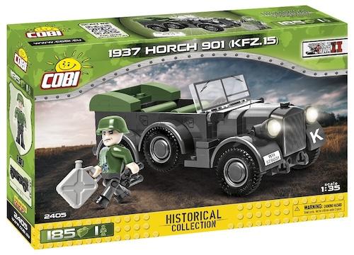 COBI #2405 ホルヒ901 Kfz.15 (Horch 901) 1/35 scale