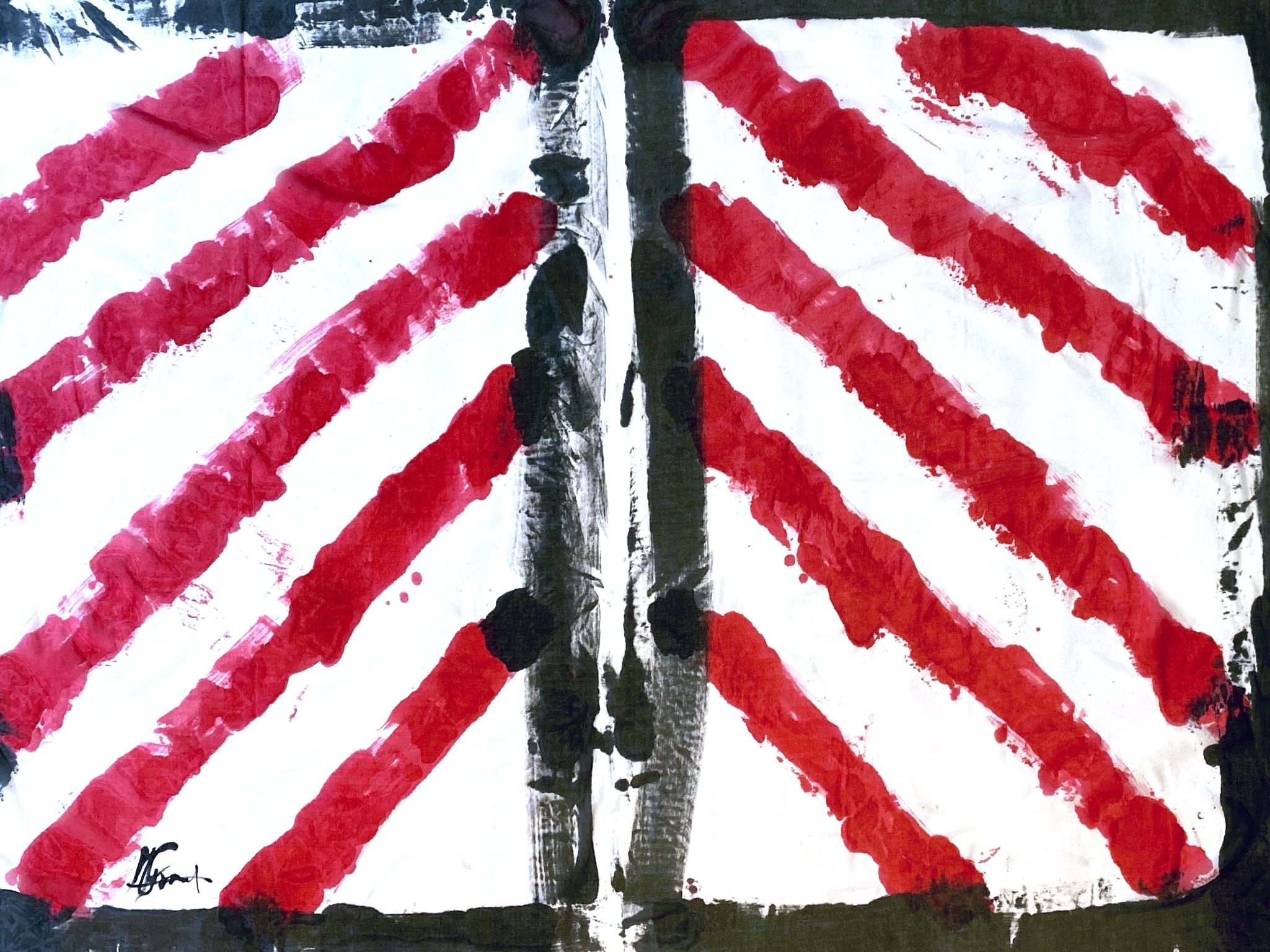 [売約済][着るアートストール]PLAIN CORNICE STOLE【SILKシルク】1117SILK-HP57 [登録意匠][送料/税込]