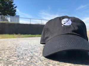心 logo cap BLACK