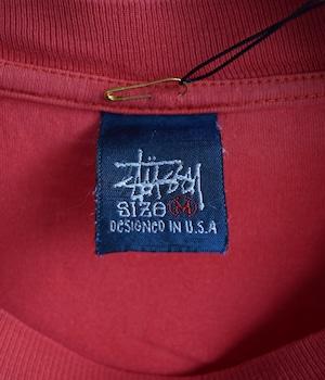 VINTAGE 90s T-shirt 8ball -STUSSY-
