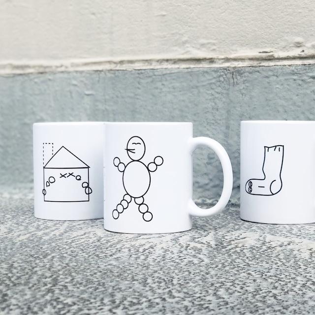 平山昌尚 / マグカップ <巾着付き>