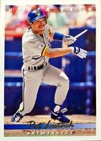 MLBカード 93UPPERDECK Pat Listach #253 BREWERS