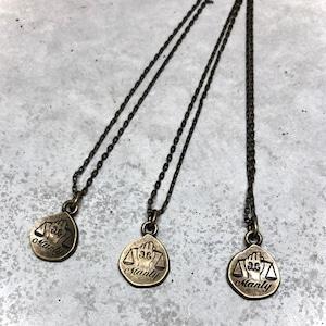 【MN-12BR】Small icon pendant