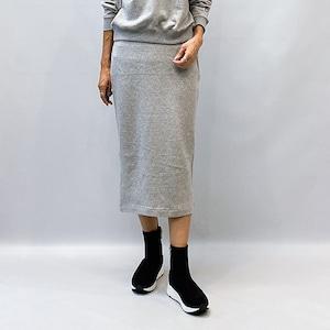 DOUBLE STANDARD CLOTHING(ダブルスタンダードクロージング) ESSENTIAL/スウェードスカート 2021秋冬物新作[送料無料]