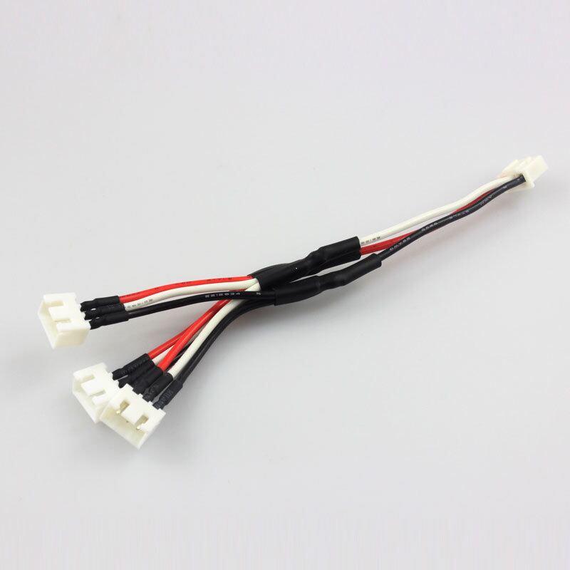 ◆M1、K120及びT-REX150用 2セル7.4V LiPo用 3個同時充電拡張ケーブル