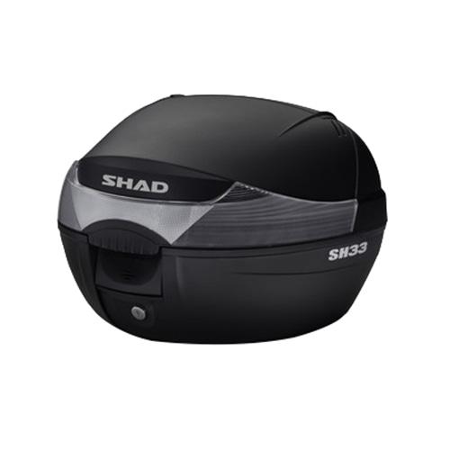バイク リアボックス ハードケース SHAD SH33 リアボックス 無塗装ブラック