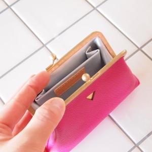 mini   ウォレット/がまぐち財布 バイオレットピンク