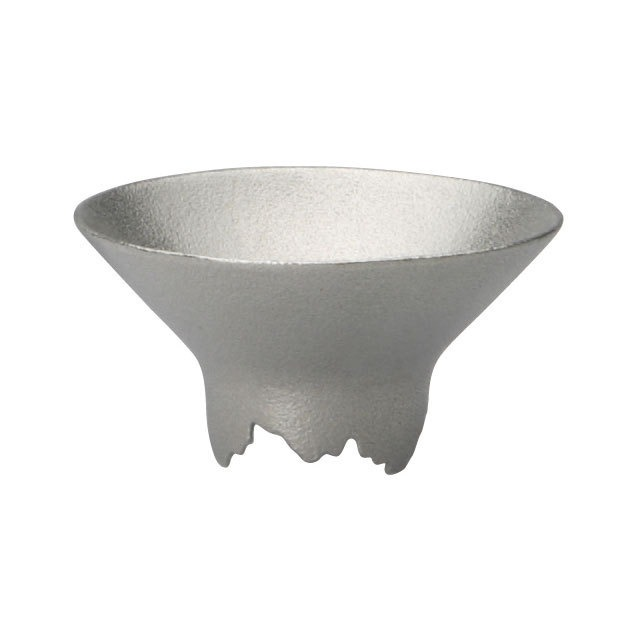 《シキカラーズ_サケカップ》SHIKICOLORS Silver Sake Cup