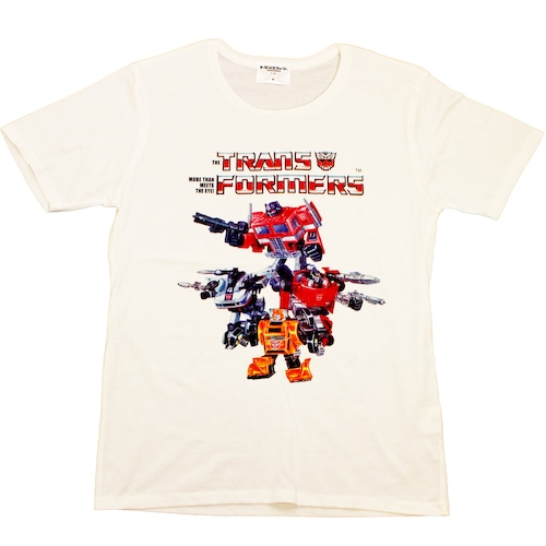 【トランスフォーマー】戦え!超ロボット生命体トランスフォーマー|チームサイバトロン80'S Tシャツ