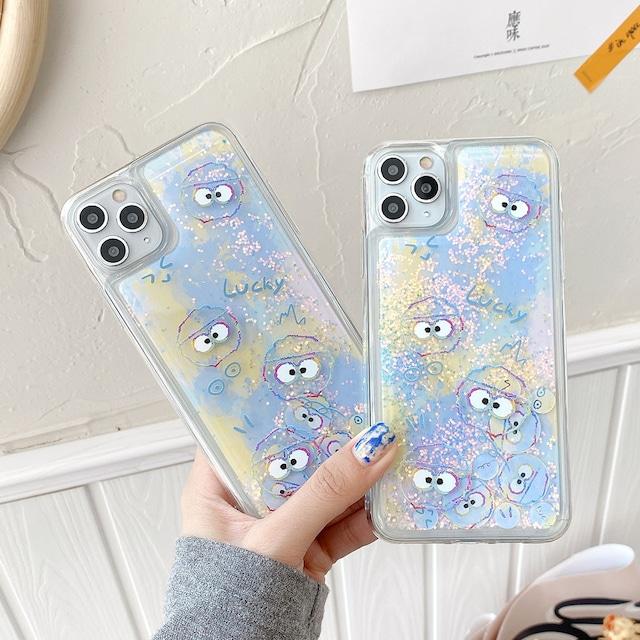 流れる♪ Cute graffiti iphone case