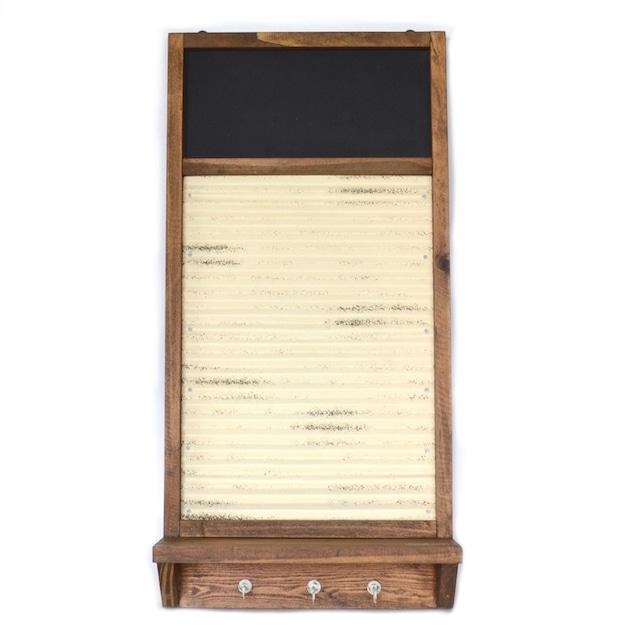 メッセージボード az-1338 黒板 マグネットボード フック ディスプレイ インテリア おしゃれ アンティーク ナチュラル