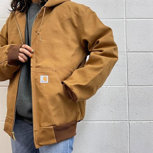 カーハート carhartt  ダック アクティブジャケットフーディ  USA製 新品セレクト ユニセックス