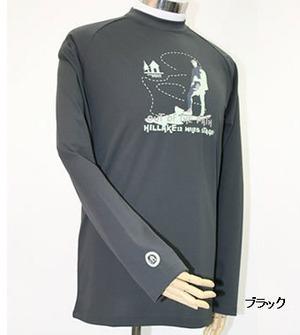PE-701M秋冬メンズロングラグランスリーブTシャツ(ブラック)