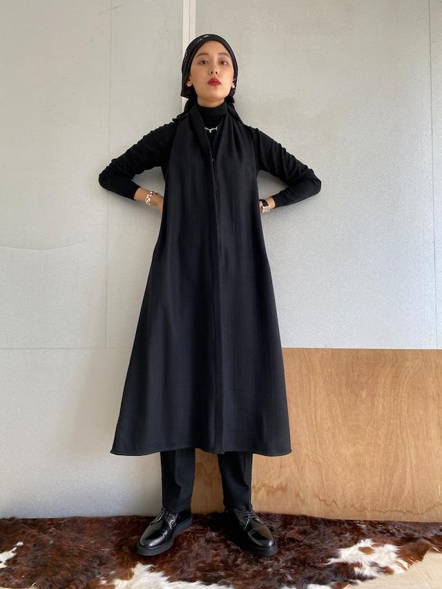 """Holterneck Dress """"black"""" khadi wool"""