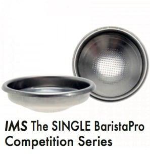 〔3個セット〕フィルターバスケット●IMS BaristaPro The SINGLE B70 シングルバスケット