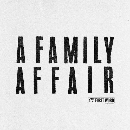 """【残りわずか/12""""】Various Artists - A Family Affair"""