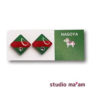 ■NAGOYA-20  ピアス。しかく。〜イヤリング変更可〜