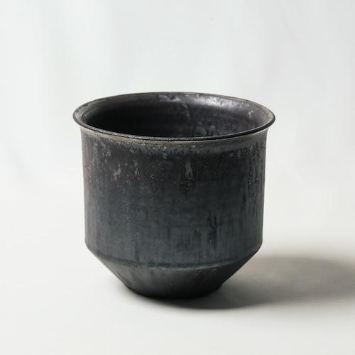 Roughness Black Plants Pot(No,17)※LARGE