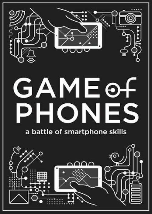 ゲームオブフォン(Game of Phone)和訳説明書・シール付き