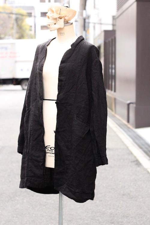 90's linen coat