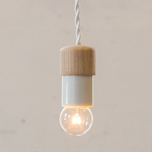 Socket Lamp Elm Mini|楡×白磁ソケット