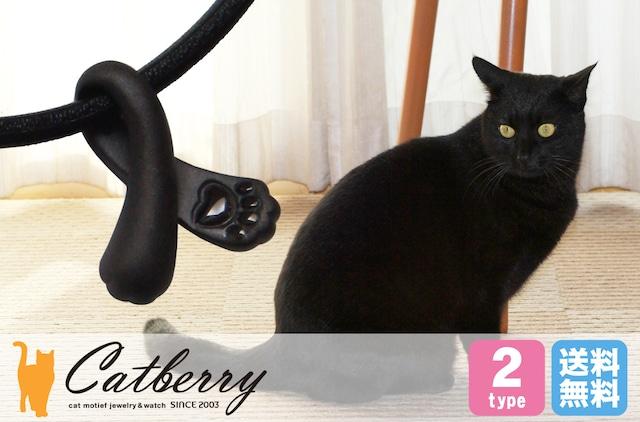 猫の手ペンダント 黒猫バージョン