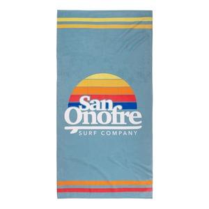Old School Sun Towel