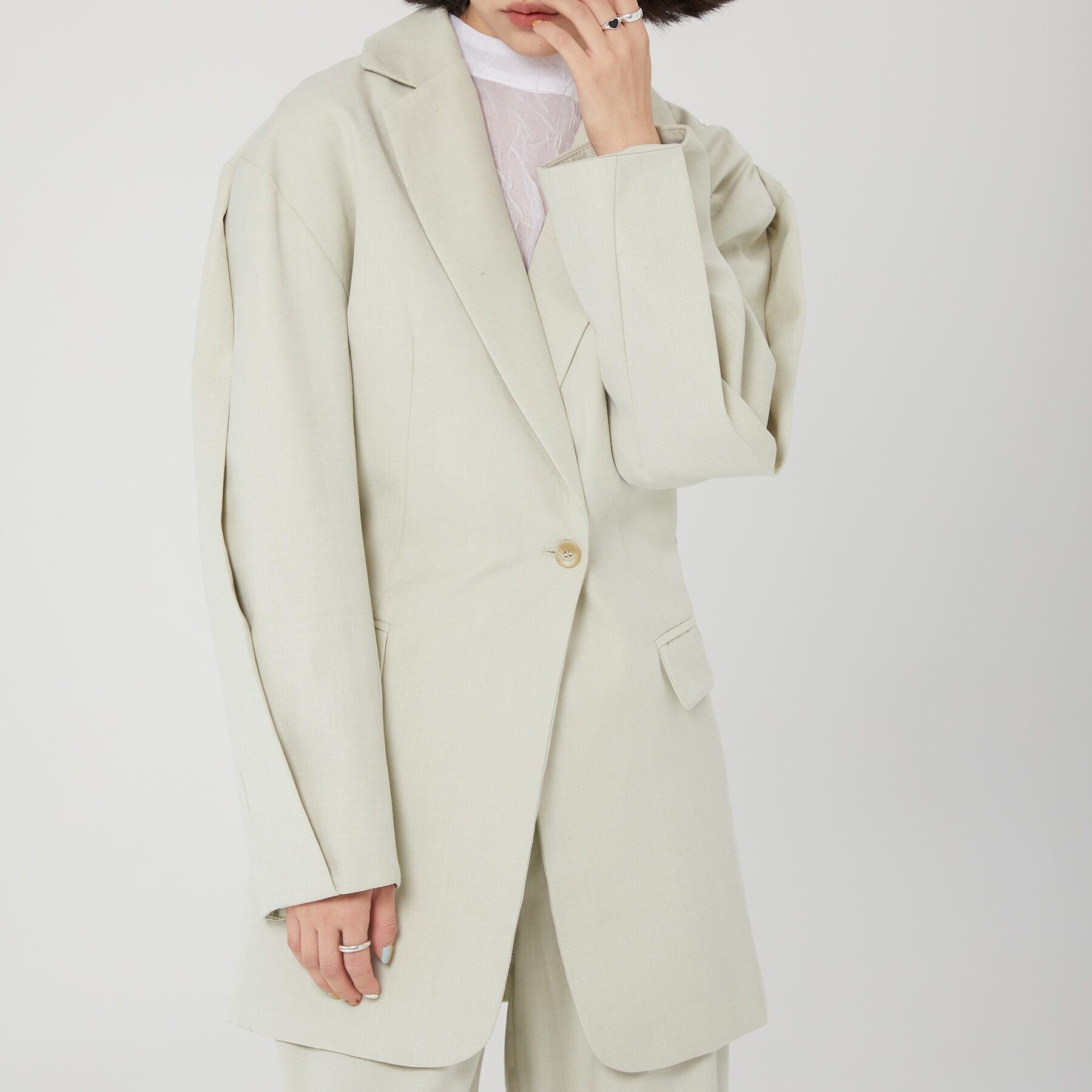Arm line suit jacket(アームラインスーツジャケット)b-067