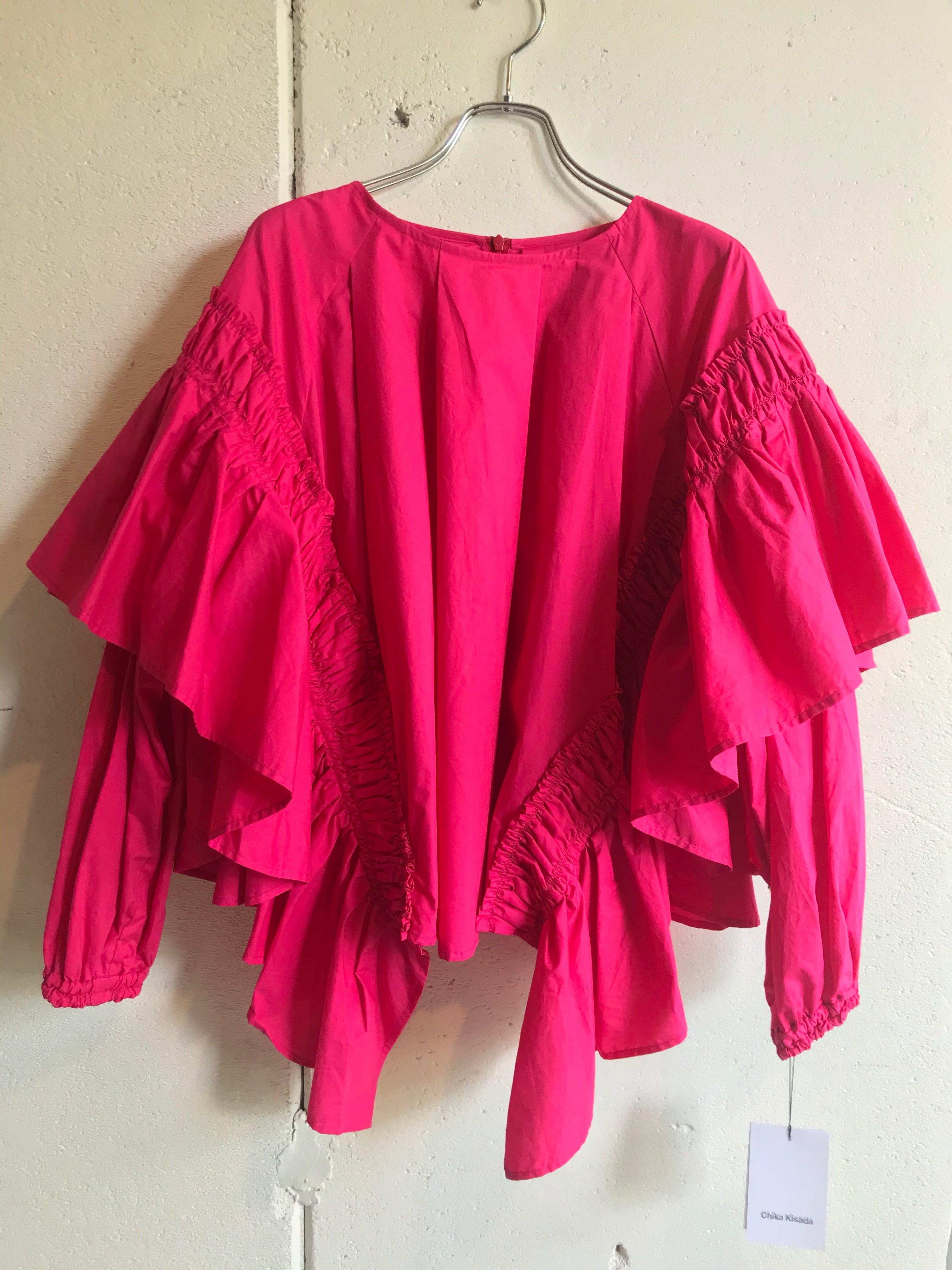 Chika Kisada broad blouse