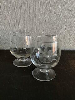 PARIS 20年代アールデコ調の切子グラス