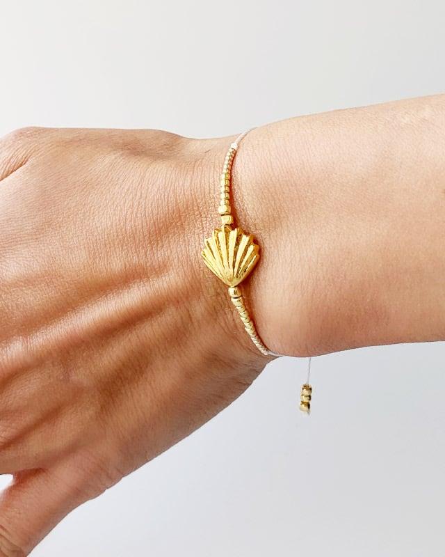 Shell gold bracelet OBH-69