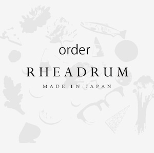 Rheadrum  Order   ハニワX土器+レンコンのチェーンピアス